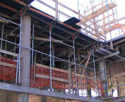 Slab Formwork-Superdeck and multidirectional